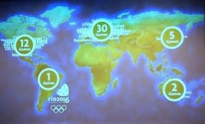 sedes olímpicas rio 2016 ciudades sede
