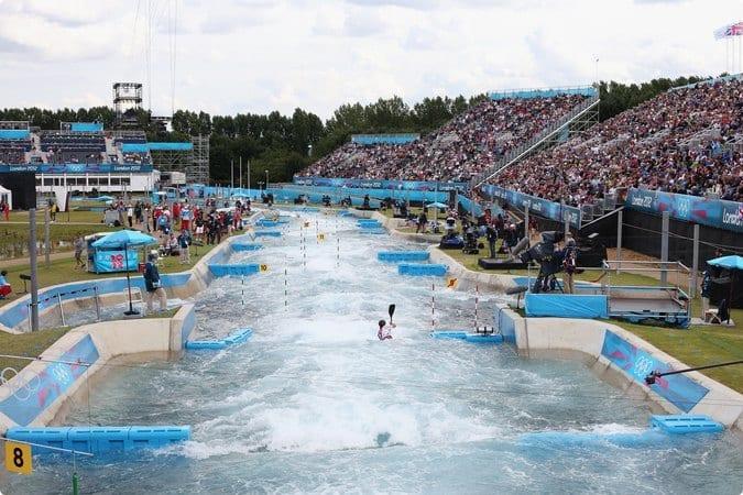 canotaje en slalom olímpico