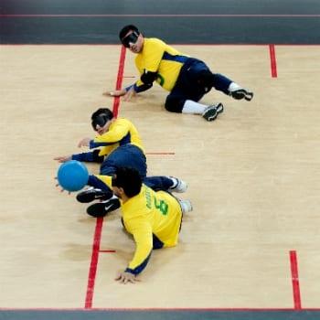 GoBall deporte paralímpico